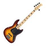 Guitare basse électrique Image libre de droits