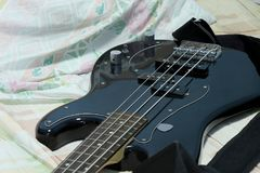 Guitare basse Photos stock