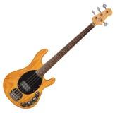 Guitare basse photo stock