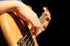 Guitare basse Photos libres de droits