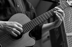guitare classique Photo stock