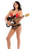 Guitare de bikini photo libre de droits