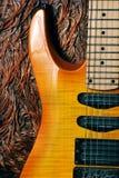 Guitare de cru Image libre de droits