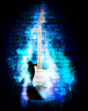 Guitare de Flime Photo stock