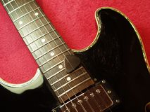 Guitare de jazz Photos libres de droits