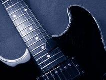 Guitare de jazz Photos libres de droits