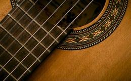 Guitare de l'Espagne Photographie stock libre de droits