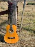 Guitare de pays Images libres de droits