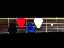 Guitare de quatre sélections photo libre de droits
