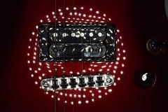 Guitare de Schecter Image libre de droits
