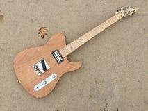 Guitare de Tejas T d'aulne images libres de droits