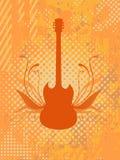 Guitare de vecteur Image libre de droits