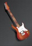 Guitare en bois Photographie stock libre de droits