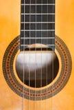Guitare en bois classique Photos libres de droits