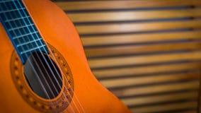 Guitare espagnole Photo stock