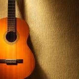 Guitare espagnole Image stock