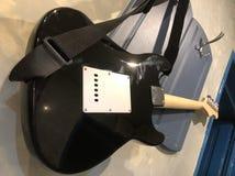 Guitare gauchère photo libre de droits