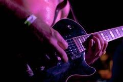 Guitare hands Stock Photos