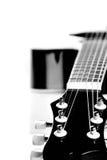 Guitare. Image noire et blanche. Photographie stock libre de droits