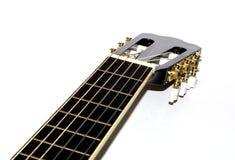 Guitare noire Images libres de droits