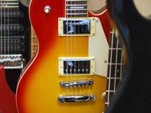 Guitares électriques Photos libres de droits