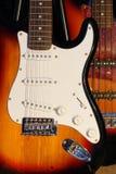 Guitares électriques photographie stock