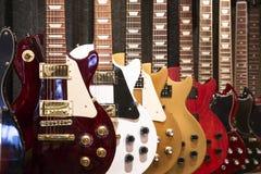 Guitares électriques Images libres de droits
