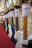 Guitares électriques Photo libre de droits
