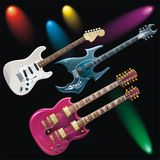 Guitares Image stock