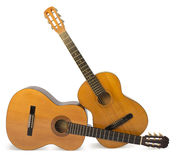 Guitares acoustiques Photo stock