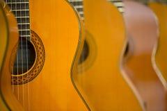 Guitares acoustiques Photos libres de droits