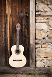 Guitares de cru Photographie stock