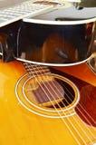Guitares, plan rapproché Image stock