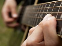 Guitarist Stock Photography