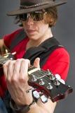 Guitarist Royalty Free Stock Photos