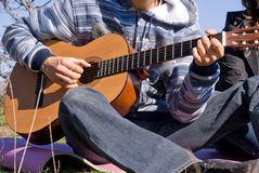 Guitarist Stock Photo