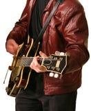 Guitarist. Guitar Player royalty free stock photo
