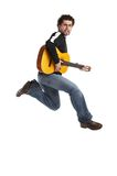 Guitarist royalty free stock photo