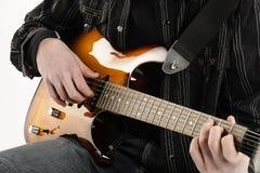 Guitarist Royalty Free Stock Image