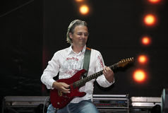 Guitarist-3 fotografia de stock royalty free