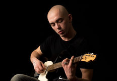 Guitarist. Royalty Free Stock Images