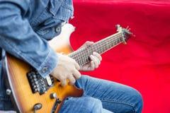 guitarist Στοκ φωτογραφία με δικαίωμα ελεύθερης χρήσης