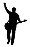 Guitarist Royalty Free Stock Photography