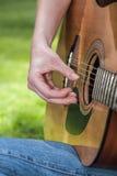 Guitarist Stock Photography