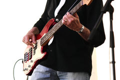 Guitarist in concert Royalty Free Stock Images