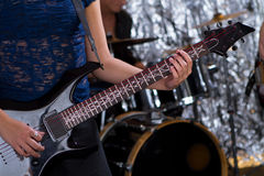 Guitarist - Musical Band Stock Photography