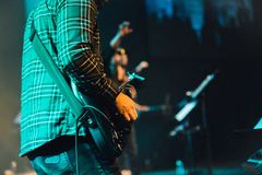 Guitarist, Performance, Stage, Musician Royalty Free Stock Image