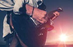 The Guitarist Stock Photography