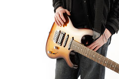 Guitarist rock Stock Photos