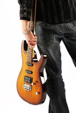 Guitarist rock Royalty Free Stock Photography